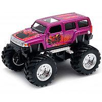 Машинка Hammer H3 Big Wheel Monster М 1:34-39, Welly