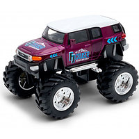 Машинка Toyota FJ Cruiser Big Wheel Monster М 1:34-39, Welly