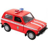 Машинка LADA 4x4 Пожарная охрана М 1:34-39, Welly