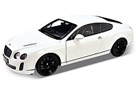 Машинка Bentley Continental Supersports М 1:34-39, Welly