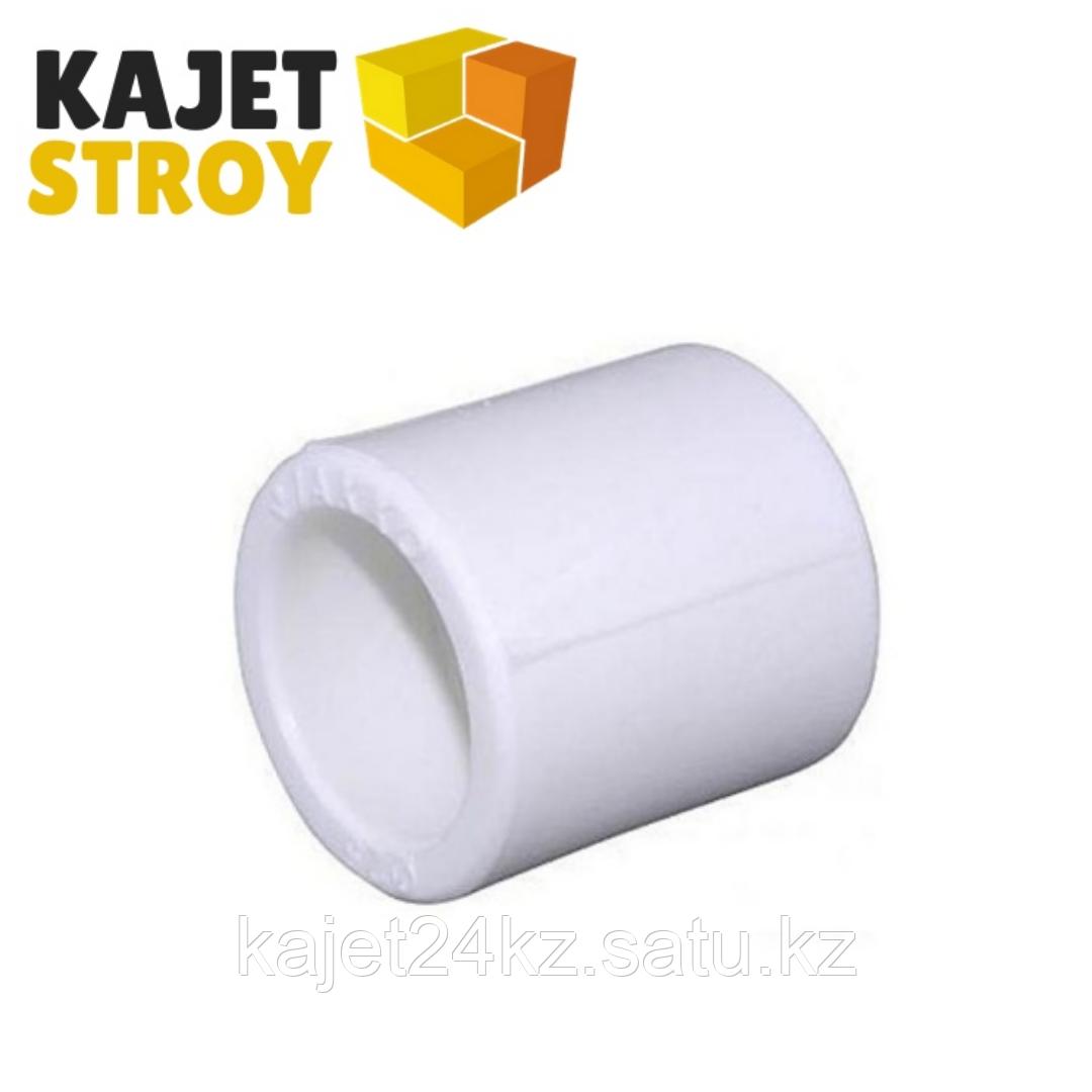 Муфта  50 PN 25  белый  РТП (10/100)
