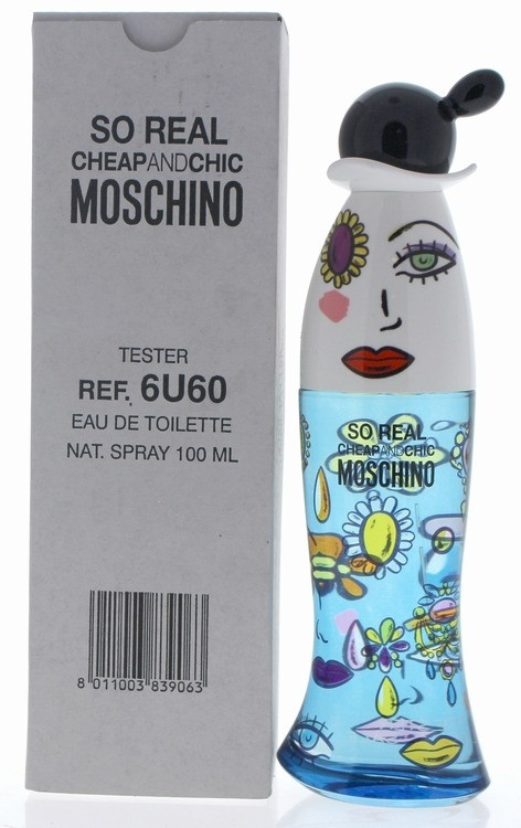 Moschino Cheap and Chic So Real edt Tester 100ml