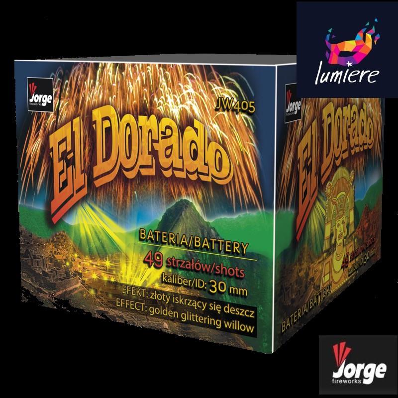 Батарея салютов Jorge JW405 El Dorado