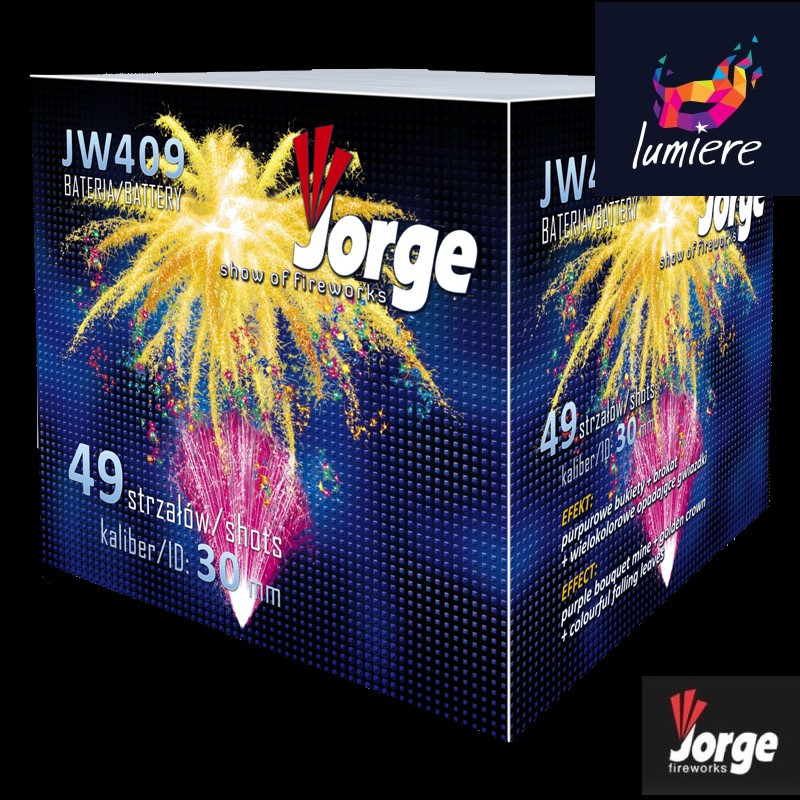 Батарея салютов Jorge JW409 Show of fireworks