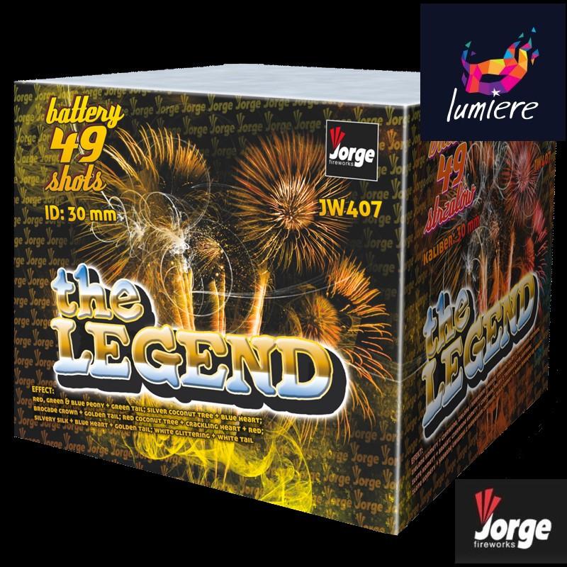 Батарея салютов Jorge JW407 The Legend