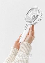 Портативный аккумуляторный ручной вентилятор Hand held Fan, фото 3