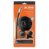 Микрофон компьютерный Acme MK-200 черный, фото 2