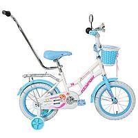 Детский велосипед Kespor Princess 14 (белый)