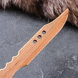 """Сувенирное деревянное оружие """"Нож самурая"""", 31 х 4,5 см, массив бука, фото 2"""