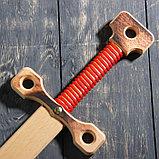 """Сувенирное деревянное оружие """"Меч двуручный"""", массив бука, 75 см, микс, фото 6"""