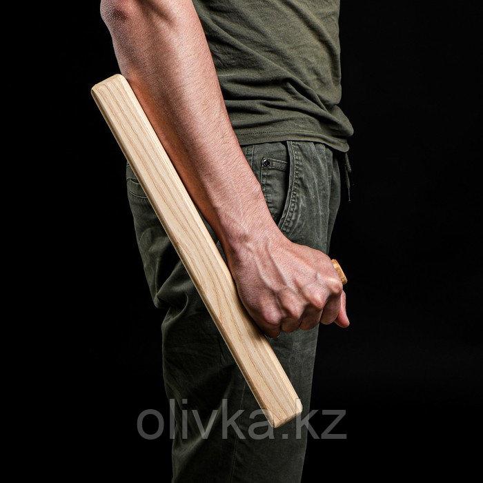 """Сувенир деревянный """"Тонфа"""" 40 см, массив бука"""
