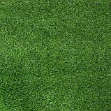 Газон искусственный, ландшафтный, ворс 30 мм, 2 × 4 м, зелёный двухцветный, фото 2