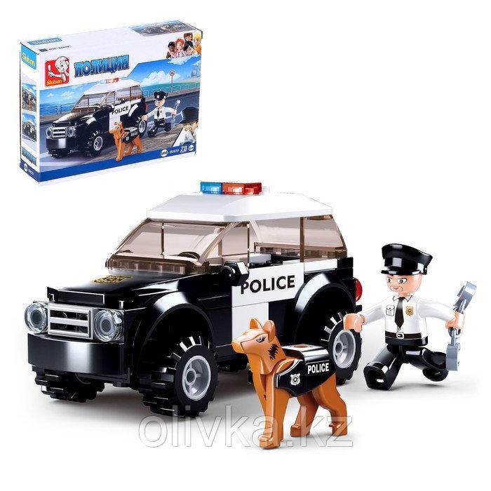 Конструктор «Полицейский патруль», 78 деталей