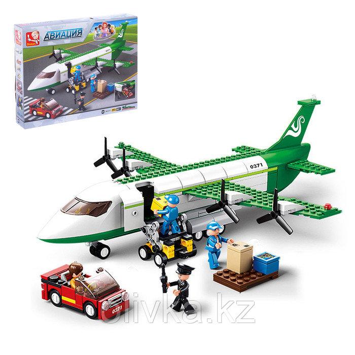 Конструктор «Транспортный самолёт», 383 детали
