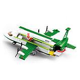 Конструктор «Транспортный самолёт», 383 детали, фото 3