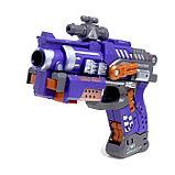Робот-трансформер «Бластер», трансформируется в робота, стреляет мягкими пулями, цвет фиолетовый, фото 5