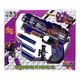 Робот-трансформер «Бластер», трансформируется в робота, стреляет мягкими пулями, цвет фиолетовый, фото 8