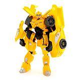 Робот-трансформер «Спорткар», цвет жёлтый, фото 2