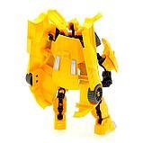 Робот-трансформер «Спорткар», цвет жёлтый, фото 3