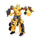 Робот-трансформер «Военный», цвет жёлтый, фото 2