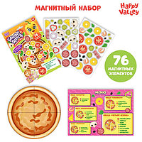Игровой набор на магнитах «Готовим вместе. Любимая пицца»