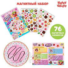 Игровой набор на магнитах «Готовим вместе. Вкусный тортик»