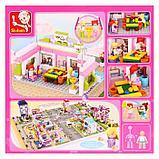 Конструктор «Розовая мечта: бильярдный клуб», 289 деталей, фото 2