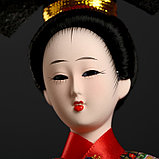 "Кукла коллекционная ""Китаянка в национ. платье с китайским фонариком"" МИКС 32х12,5х12,5 см, фото 5"