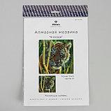"Алмазная мозаика ""В засаде"" 20 × 20 см, 23 цвета, фото 3"