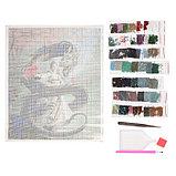 Алмазная мозаика «Девушка с драконом», 51 цвет, фото 2
