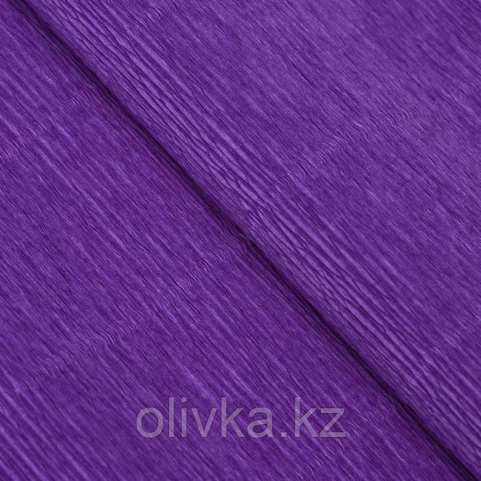 """Бумага гофрированная, 17E/2 """"Фиолетовая"""", 0,5 х 2,5 м"""