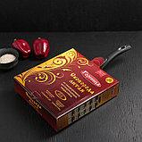 Сковородка «Шоколад», 26×5,5 см, с съёмной ручкой и стеклянной крышкой, фото 6