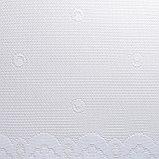 Штора М492б на шторной ленте 245х165 см, белый, пэ 100%, фото 2