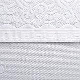 Штора М492б на шторной ленте 245х165 см, белый, пэ 100%, фото 3