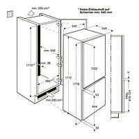 Встраиваемый холодильник Electrolux ENN92801BW, фото 2