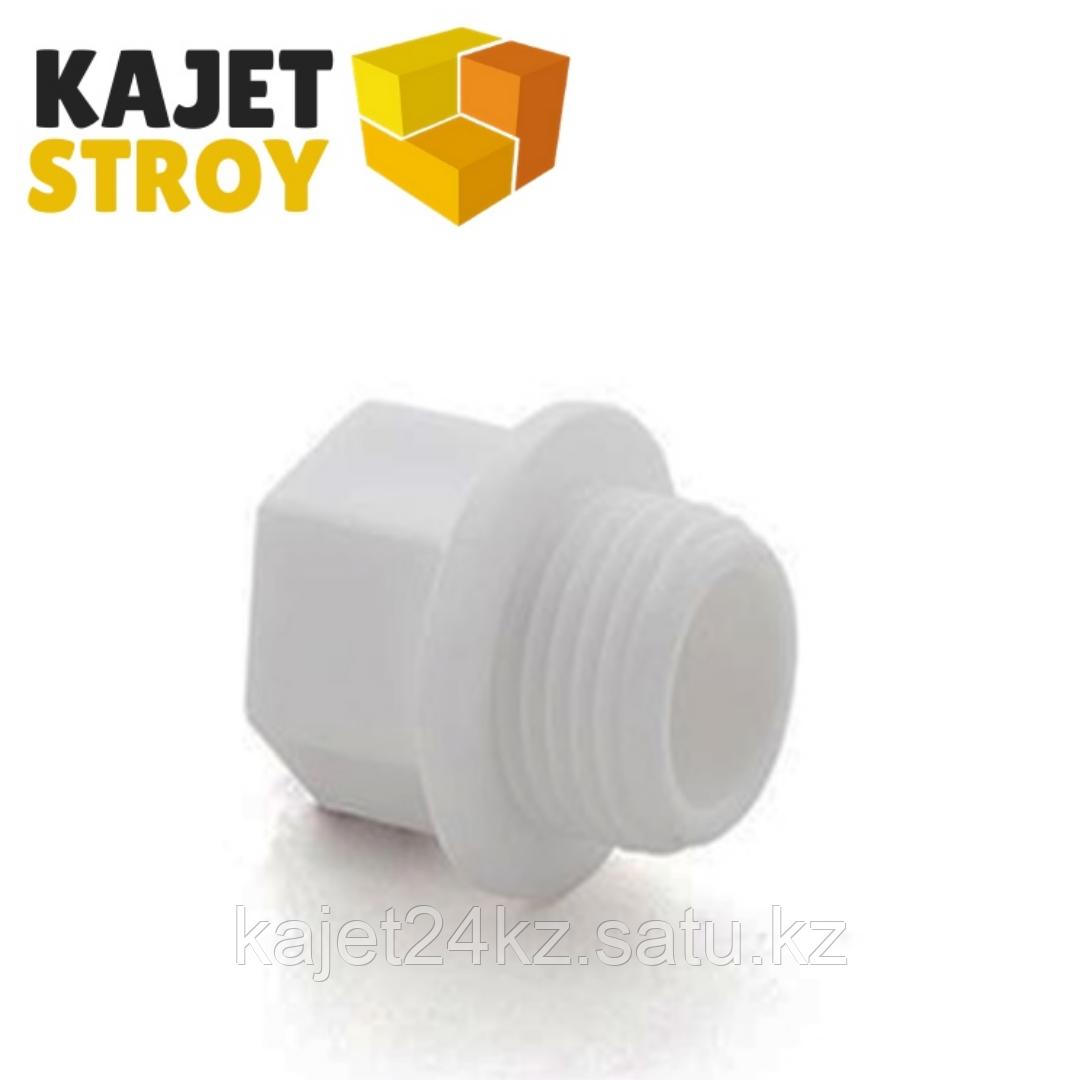 Заглушка резьбовая 3/4 PN 25 белый  РТП (50/300)