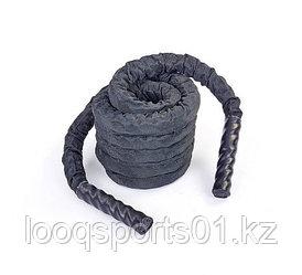 Канат для кроссфита черный спортивный (диаметр 50 мм) 9 метров