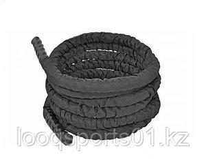 Канаты для кроссфита черный спортивный (диаметр 50 мм) 12 метров