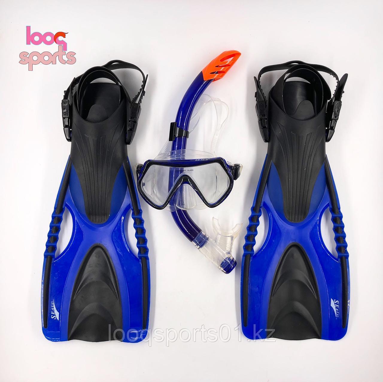 Набор для плавания 3в1 (маска, ласты, трубка, очки)