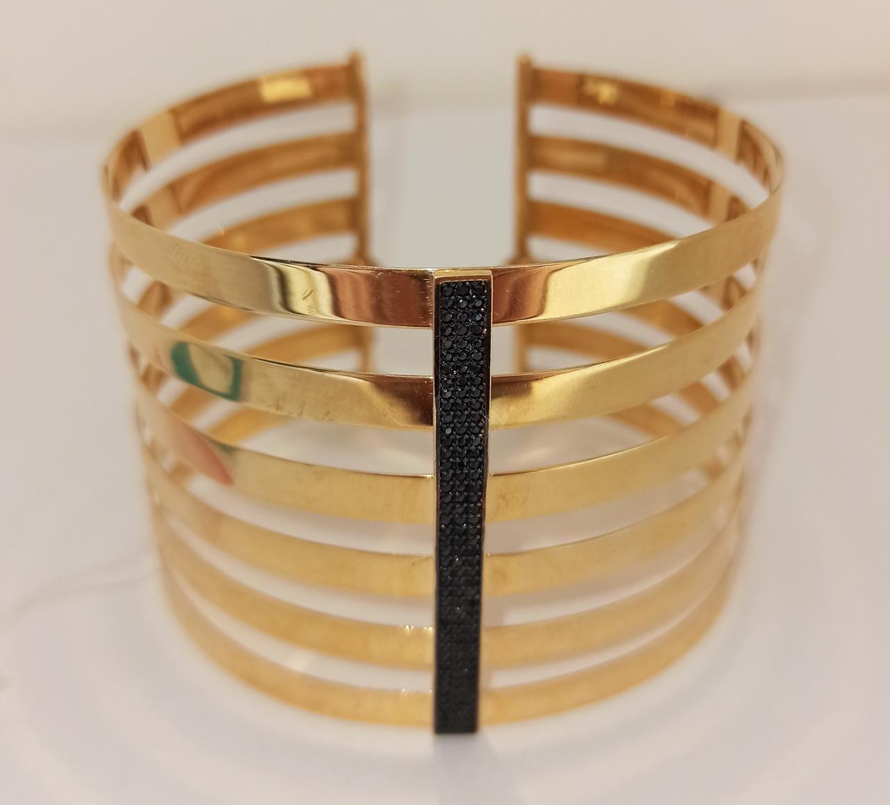 Золотой Браслет Franco Fontana / жёлтое золото