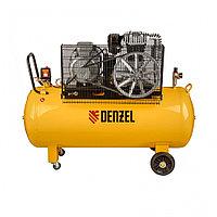 Компрессор DR5500/300, масляный ременный, 10 бар, производительность 850 л/м, мощность 5.5 кВт Denzel