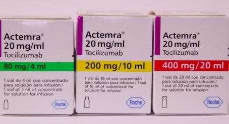 Актемра (тоцилизумаб)  400 мг/20 мл (Европа)