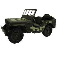 Машинка Военный автомобиль М 1:34-39, Welly