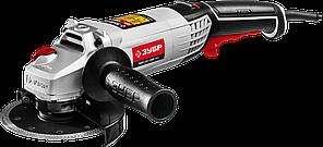 Углошлифовальная машина (болгарка), ЗУБР УШМ-125-1200 ЭМ3, регулировка оборотов, 125 мм, 3000 - 1100 об/мин, 1