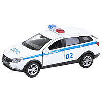 Машинка Lada Vesta SW Cross Полиция ДПС М 1:34-39, Welly