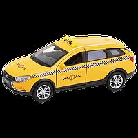 Машинка Lada Vesta SW Cross Такси М 1:34-39, Welly