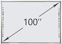 Интерактивная доска DTWB100SM10A00ALG, 10 касаний, диагональ 100 дюймов, цвет рамки серый