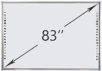 Интерактивная доска DTWB83SM10A00ALG, 10 касаний, диагональ 83 дюйма, цвет рамки серый