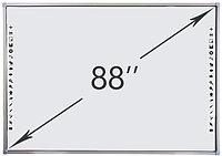 Интерактивная доска DTWB88SM10A00ALG, 10 касаний, диагональ 88 дюймов, цвет рамки серый