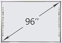Интерактивная доска DTWB96SM10A00ALG, 10 касаний, диагональ 96 дюймов, цвет рамки серый